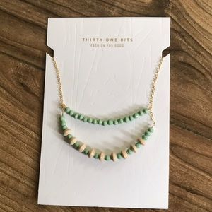31 bits agave duo necklace